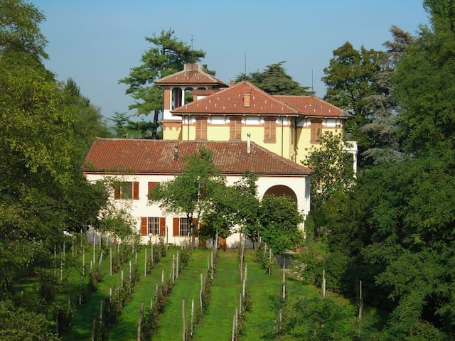Beautifull historic hill villa - Asti - Villa