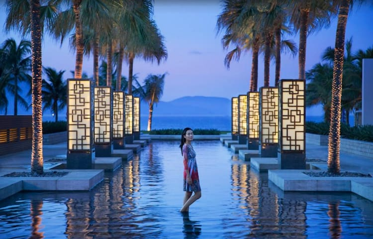 HYATT Danang Resort 5*  Nice Pool View Apartment