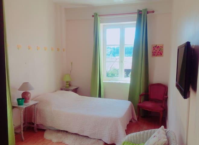 Loue chambres à Poule-Les-Écharmeaux - Poule-les-Écharmeaux - Haus