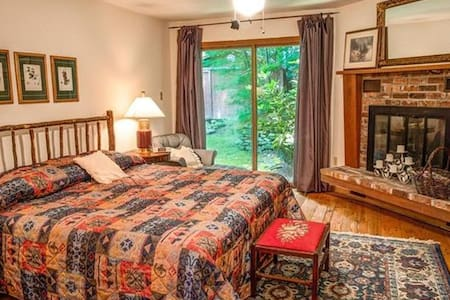 Cozy Suite: walkable to Montreat College. - Black Mountain