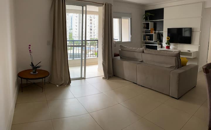 Apartamento Confortável 72 m Morumbi — Completo.
