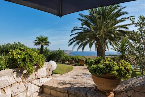 Casa nel verde - Vista eccezionale vicino Otranto