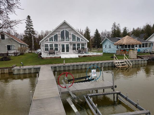 Long Lake cottage in Alpena, MI