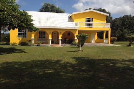 Lovely Villa in Sandhill Belize - Sandhill - Rumah