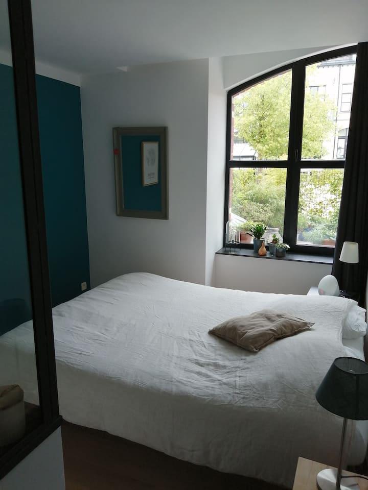 Chambre dans appartement de standing et de style