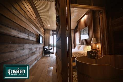 Suneta Hostel Chiang Khan - River View Suite