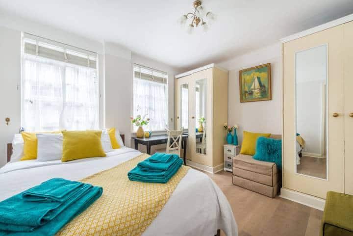 Central London Studio Apartment-70% off in Feb/Mar