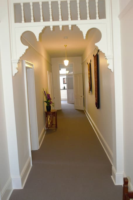 Hallway from front door