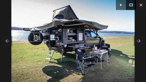 4×4 camper truck for off road adventures -ERZURUM