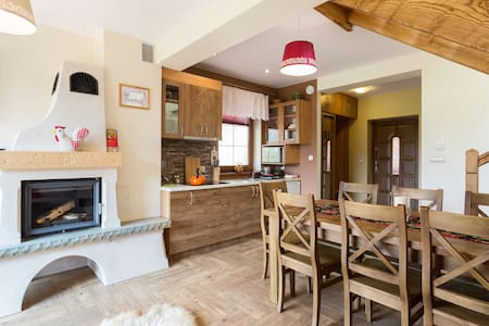 Cozy Cottage with Fireplace (70m2) Thermal pools - Bańska Niżna - House
