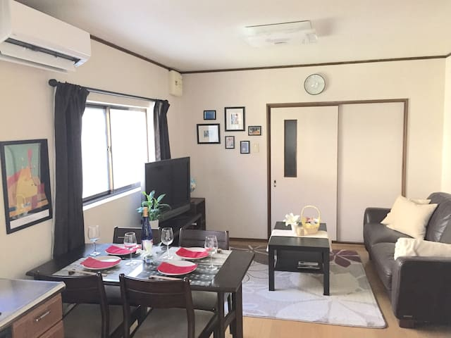 ★3BDR  Cozy Family Home★ just 1-Stop to Shin Osaka