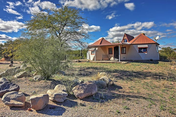 1BR Mammoth Cottage w/ Gorgeous Desert Views! - Mammoth - Casa