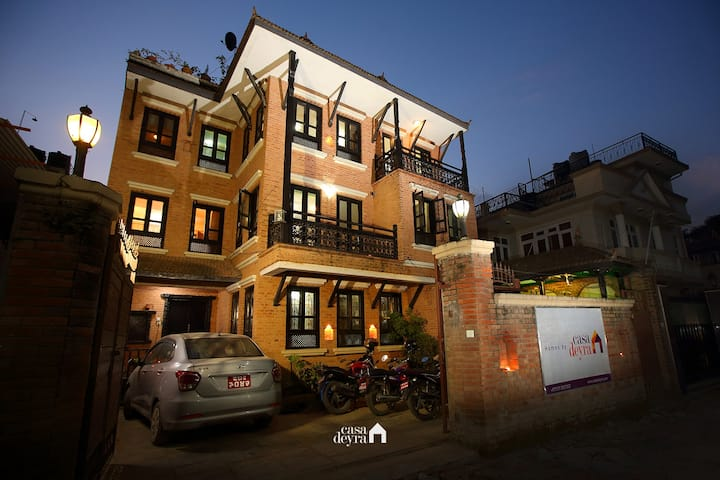 Boutique stay@Kathmandu Heritage Home by CasaDeyra
