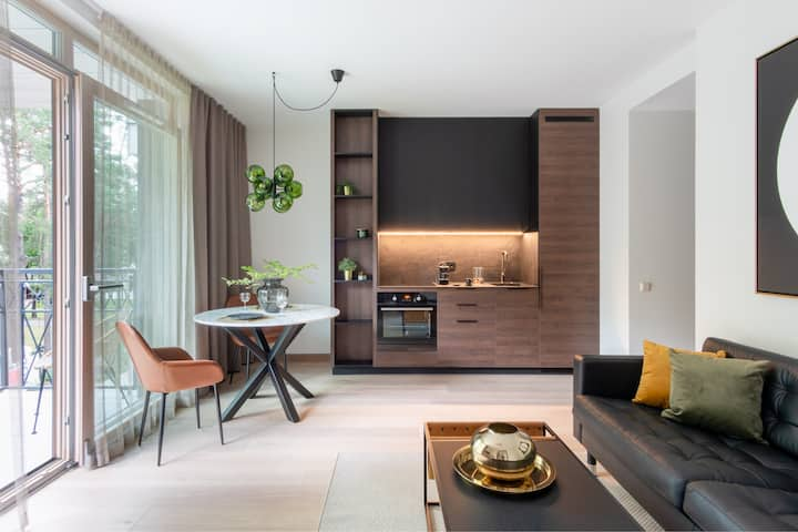 Modern boutique apartment in the city center