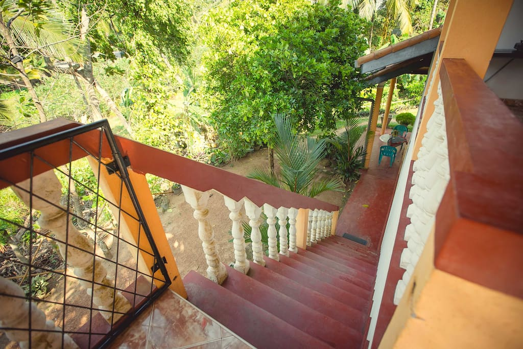 stair, view from the top