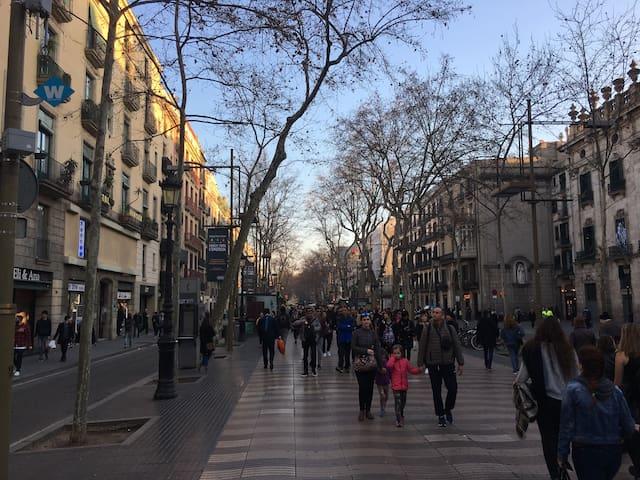LAS RAMBLAS- GOTICO -PLAZA REIAL APARTMENT - Barcelone - Appartement