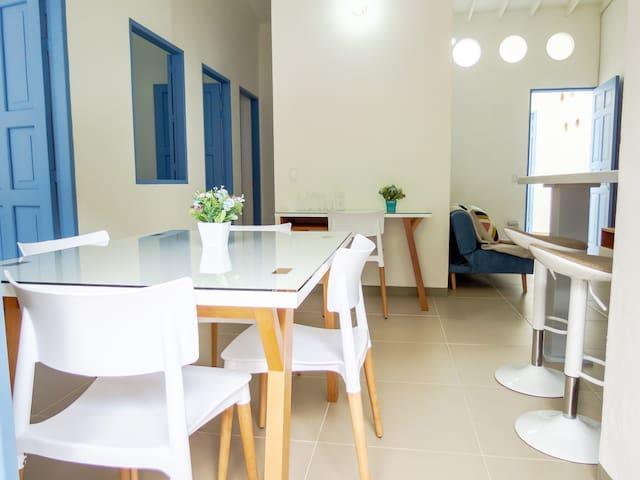 Azulado Jerico Apartamento Moderno de Lujo 201