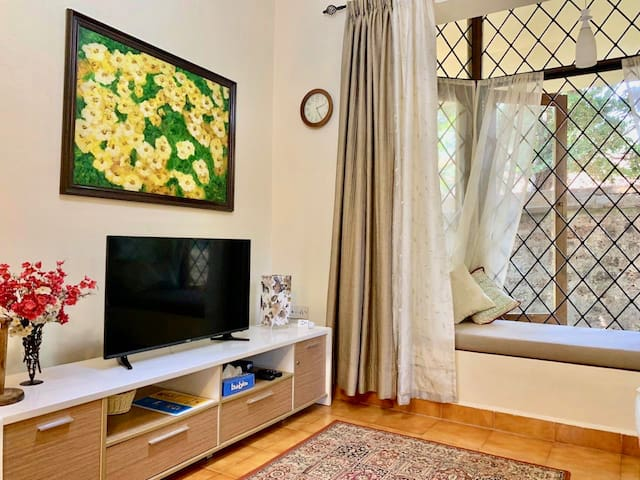 Charming Quiet Studio Apartment Arpora