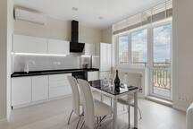 Кухня-Студия с видом на море