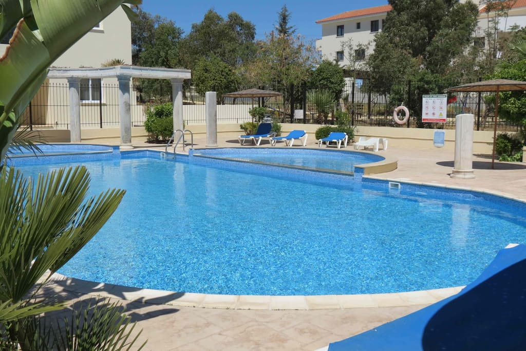great swimming pool and children's pool