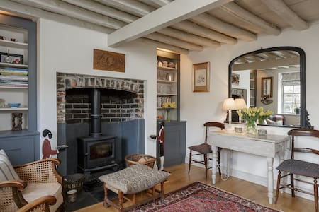 Cosy Flint Cottage Nr Goodwood - Singleton