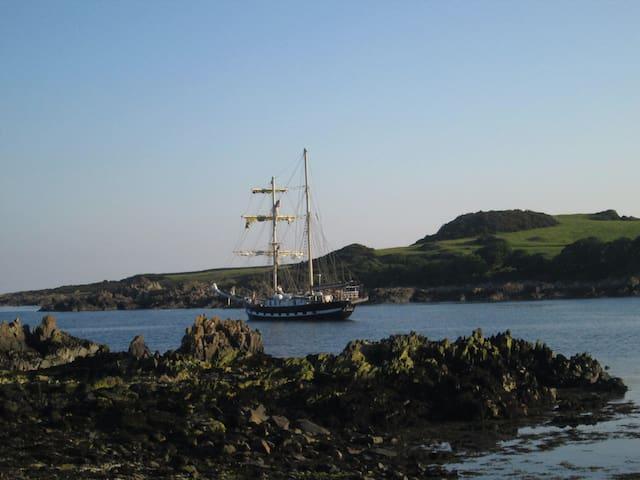Rare and Quirky Tall Ship La Malouine