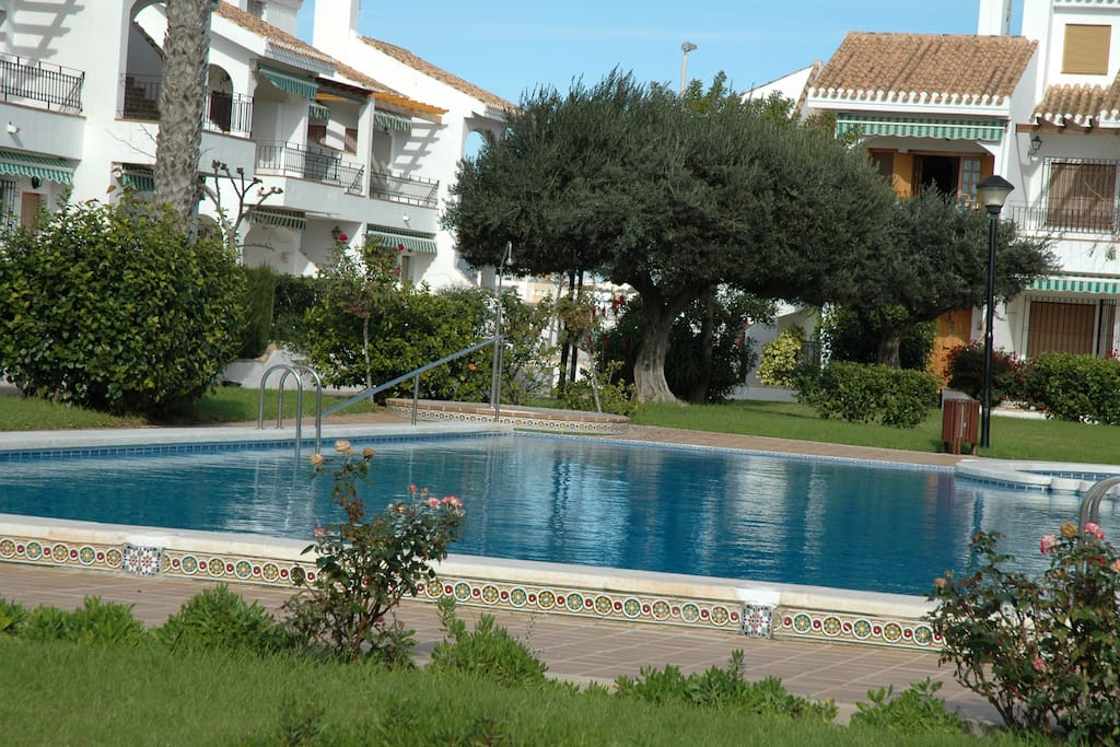 Fantastic private área with swimming pool.