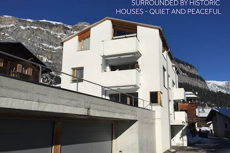 Modern 2 bedroom apartment - Flims