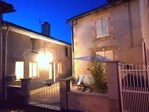 Maison de Charme in pretty village.