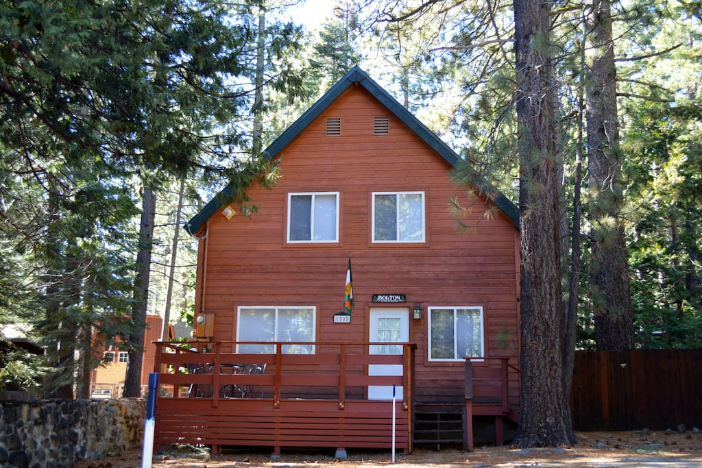 Great lakeside cabin near sunnyside cabins for rent in for Tahoe city cabin rentals