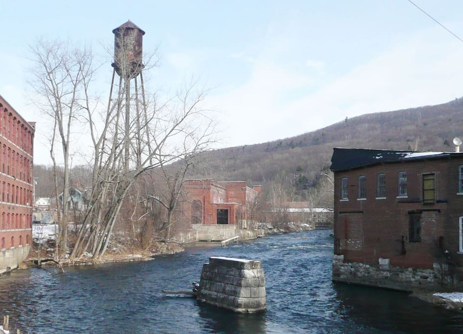 Located on the Housatonic river.