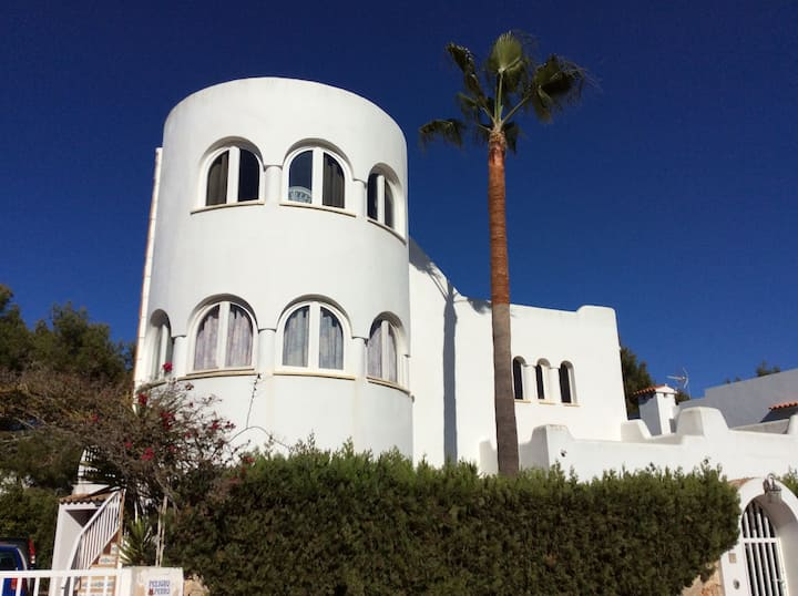 Villa mit Meerblick und Pool in Cala D' Or