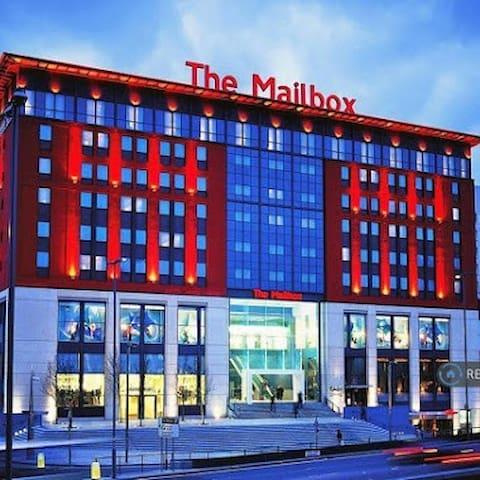 Luxury apartment city centre by mailbox - Birmingham - Bed & Breakfast