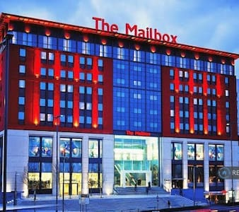 Luxury apartment share city centre of Birmingham - Birmingham - Bed & Breakfast