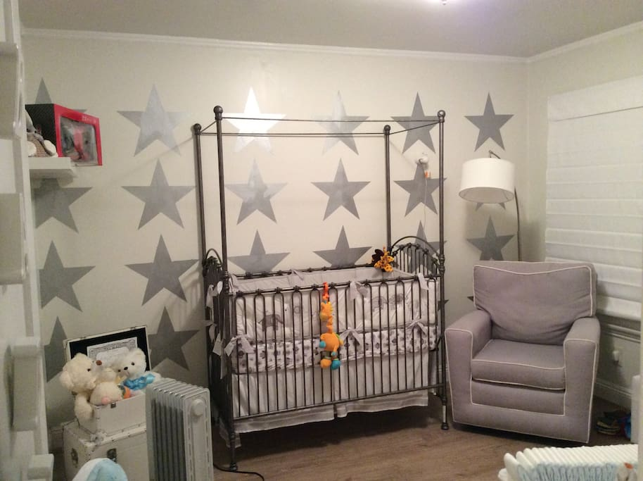 Love our Baby Room/ Fully Equipped with rocking chair