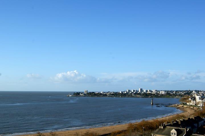 Beau T3 belle vue mer, plage à 100m - 聖納澤爾(Saint-Nazaire) - 公寓