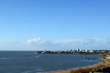 Beau T3 belle vue mer, plage à 100m - Saint-Nazaire
