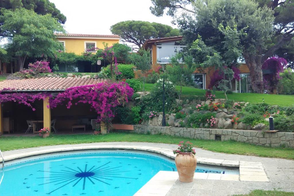 Villa calabria casas de campo en alquiler en cabrera - Piscina cabrera de mar ...