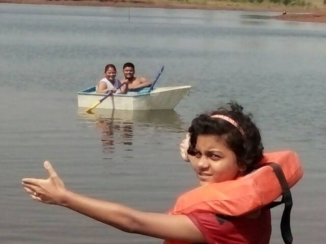 On Boating in the lake