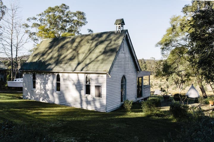 1880's Church on the Colo river - Lower Portland