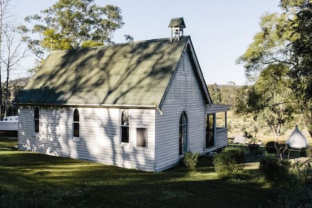 1880's Church on the Colo river - Lower Portland - Talo