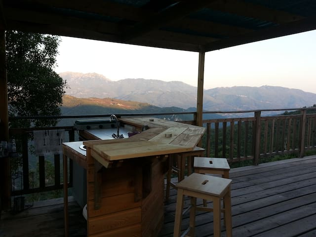 cabane perchée à 20 km de la mer - Grosseto-Prugna - Cabin
