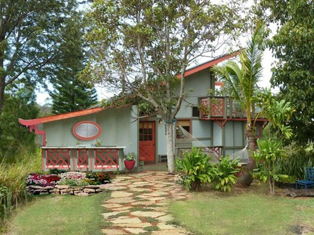 Totally Private, Oceanview Retreat - Makawao - Rumah