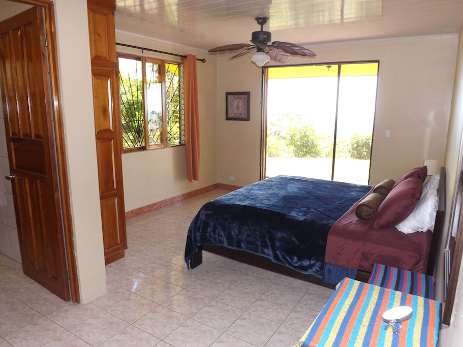 Master Bedroom 1 with King Bed and En-Suite