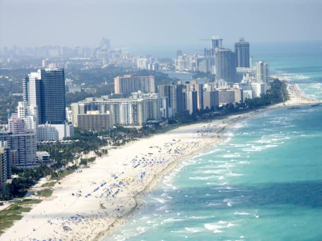 Luxury, quiet and confortable room in Southbeach - Miami Beach - Apartemen