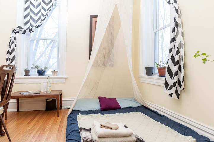 Cottage Room & Sleep Nook (for 3+) - St Louis - Rumah