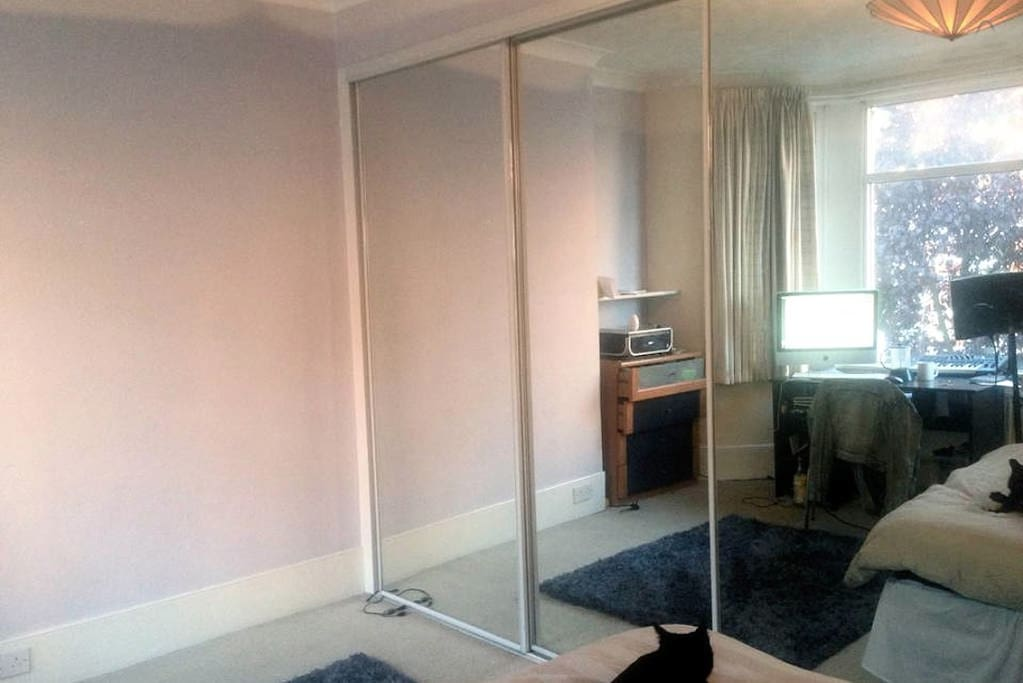 Lots of mirrors and storage!