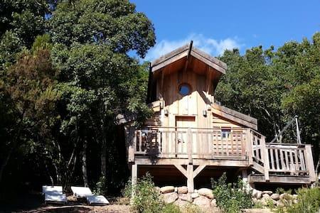 cabane sur pilotis écologique 1 - Porticcio