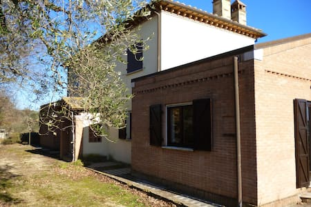 Casa in campagna con vista lago - San Liberato - Bed & Breakfast