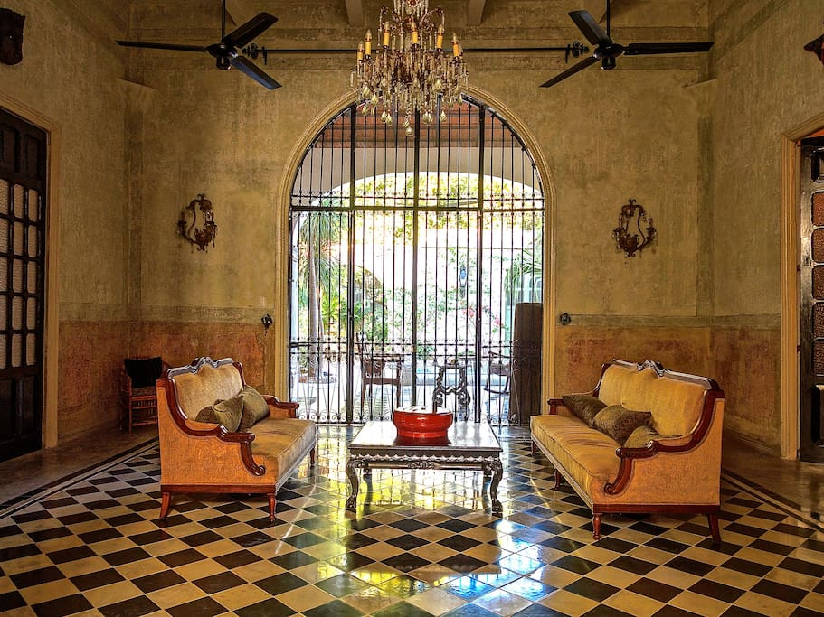 The Grand Sala of Maison Azul